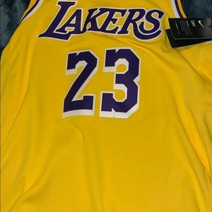 Lebron jersey lakers